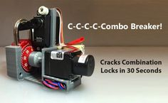 crack-Combination-lock-password