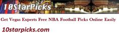 Learn online to find the free NBA football picks, which is really not a difficult task. However, you have to put little efforts and take training from the Vegas experts' of free NBA football picks online very easily.  http://www.10starpicks.com/free-picks.cfm