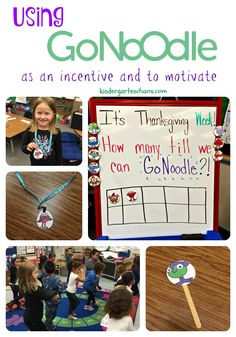 GoNoodle Ideas for t
