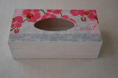 Agulkowy Świat Tissue Holders, Facial Tissue, Orchids, Decoupage, Blog, Handmade, Tips, Hand Made, Blogging