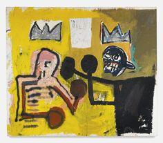 Michel Basquiat WORLD CROWN 7,000,000 — 10,000,000 USD LOT SOLD. 11,450,000 USD