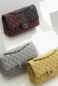 Chanel ~ Tweed Classic Flap Bag: UUGGHH NNNEEEEDD