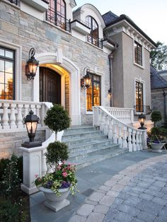 French Chateau MN Residential Design: Peter Eskuche, AIA, Eskuche Design General Contractor: Larry Olson Con