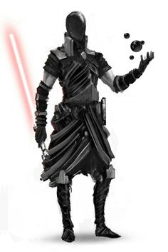 One of the coolest dark Jedi pics I've ever seen.