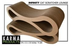The Conscious Cat is giving away an Infinity Cat Scratcher to one lucky reader!