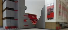 See amazing Lego versions of Anfield, Highbury, Goodison Park and more Premier League grounds Lego Sports, Goodison Park, Arsenal Fc, Premier League, Arsenal F.c.