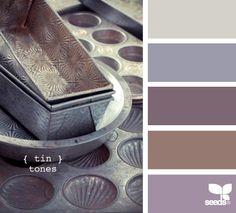 More vintage tin tones from Design Seeds. Scheme Color, Color Palate, Colour Schemes, Color Patterns, Color Combos, Colour Palettes, Design Seeds, Living Colors, Web Design