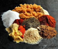 My Essential Rub for Pork Ribs or Shoulder might be the kitchen sink of rubs; there's a bit of almost everything in here! This is not just your basic rub for pork ribs or shoulder. Pulled Pork Rub, Rub For Pork Ribs, Pork Loin Rub, Bbq Ribs, Pork Rib Rub Recipe, Bbq Rib Rub, Barbecue, Pork Steaks, Bbq Pork