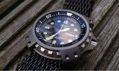 Image result for Seiko SRP775 nato leather