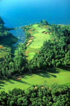 Brudenell, Prince Edward Island, CanadaSituated just north of Nova Scotia, this course leaves little to be desired. Golfers will take in the crisp air rolling off the North Atlantic while looking out on jaw-dropping views of the Gulf of St. Lawrence.While you're there: Prince Edward Island, the smallest of Canada's provinces, is known for its shellfish: fresh oysters, shrimp, lobster, mussels, and crab are on offer at restaurants across the island. Try your hand at deep-sea fishing, or…