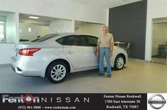 Congratulations Bob on your #Nissan #Sentra from Lexander Rios at Fenton Nissan of Rockwall!  https://deliverymaxx.com/DealerReviews.aspx?DealerCode=V432  #FentonNissanofRockwall