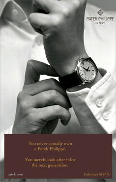 Patek Philippe Ad for 5127R Calatrava