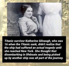 Girl survived the Titanic, but, never knew she had been in danger😵 Creepy Facts, Wtf Fun Facts, Uber Facts, Random Facts, True Facts, Best Funny Pictures, Funny Photos, Short Creepy Stories, Titanic Survivors