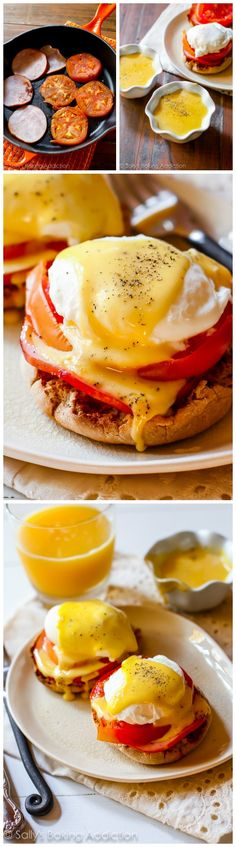 Sunday Morning Eggs Benedict/How to make Eggs Benedict from scratch
