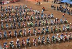 This is what the Hattah Desert Race Junior Start line will look like this year. Good luck to all the competitors!!