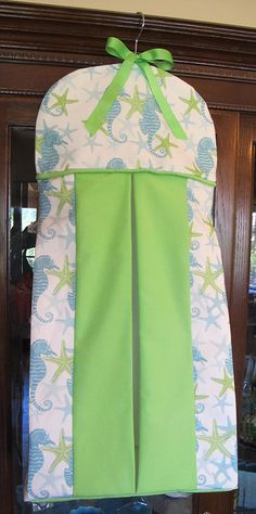 Seahorse & Starfish Diaper Stacker Bag by SweetDreamsGoodness, $45.00