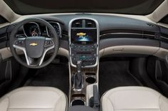 2015 Chevrolet Malibu Interior | Clean and modern interior on the Malibu, one of our favorite midsize sedan interiors for 2015 | Read the full review