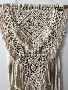 READY TO SHIP The Lotus Collection Resilience Macrame