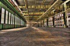 Hangar Flughafen Tempelhof von Andreas Lembke