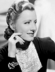 Irene Dunne-one of my all time favorites- LOVED her in My Favorite Wife!!