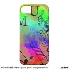Music themed i-Phone 5 case