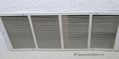 How to Clean the Air Return Vent Cover Air Return Vent Cover, Air Vent Covers, Cleaning Air Vents, House Ideas, Home Appliances, House Appliances, Kitchen Appliances, Appliances, Vent Covers