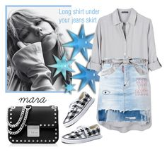 """""""Longs shirt under your jeans skirt... :-)"""" by marastyle ❤ liked on Polyvore featuring United by Blue, Dsquared2, Dolce&Gabbana, Madewell and MICHAEL Michael Kors"""