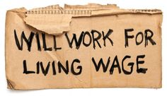 Will work for a living wage. The top 10 American companies that are making billions yet do not increase wages for the average employee. I'm thinking that means places to avoid.