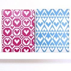 Another one❤️ #hearts #pattern #geometric #geometrical #geometricpattern #boho #bohostyle #scandinavian #inspiration #interior #decor #roomdecor #instaart #design #designer #symmetrical #simplicity #redandblue #blueandred #patterndesign #artwork #art #girly #style #lovely #nordic #tribal #instaart #graphicdesign #heart