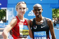 Mo Farah and Paula Radcliffe Trains in Iten, Kenya for London Marathon - News - Bubblews