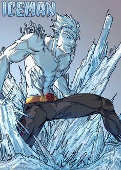 Iceman (X-Men) by FeydRautha81 on deviantART