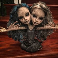 10 Awesome Halloween Decorations to try - Life Is Fun Silo Custom Monster High Dolls, Monster High Repaint, Custom Dolls, Zombie Dolls, Scary Dolls, Halloween Doll, Halloween 2019, Marionette, Arte Obscura