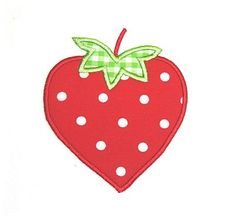 Applique Market has a wonderful selection for all of your seasonal custom design needs. Create a festive spring outfit with this strawberry Applique design.