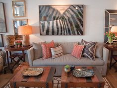 Furnishings with rustic appeal at Nathan Turner.  (Photography by Joni Noe)