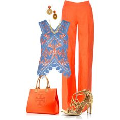 Sin título #1431 by marisol-menahem on Polyvore featuring polyvore, fashion, style, Tory Burch, Altuzarra and clothing