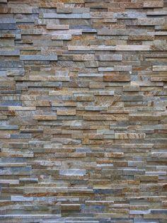 Ledgestone Stone Veneer - Tan/Grey (more contemporary than MCM)