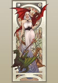 Mother of Dragons by lucasgomes.deviantart.com on @deviantART