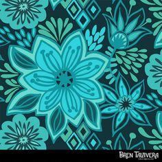 Bren Talavera at print & pattern http://printpattern.blogspot.com
