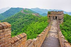Visit China: Great Wall Of China Facts - Mobal Sunset Wallpaper, Wall Wallpaper, San Jose International Airport, China Facts, Visit China, Art Japonais, Ocean Sunset, Great Wall Of China, China Travel