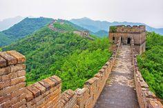 Visit China: Great Wall Of China Facts - Mobal Sunset Wallpaper, Wall Wallpaper, San Jose International Airport, China Facts, Visit China, Art Japonais, Ocean Sunset, Great Wall Of China, China Travel