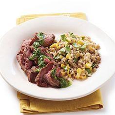 Cinco de Mayo Recipes: Cilantro Flank Steak