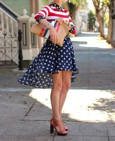 love these stripes and dots