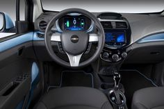 2014 Chevrolet SparkEV interiors