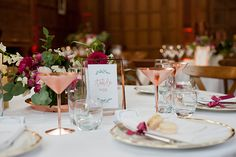 Wedding Breakfast at Yarnton Manor. Flowers by Styling by Place settings by Oxford Fine Dining. Macaron favours from Photo by Isobel Murphy Photography Luxe Wedding, Unique Wedding Venues, Wedding Receptions, Unique Weddings, Wedding Details, Wedding Events, Macaron Favors, Favours, Got Married