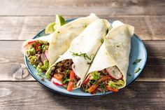 Smoky Beef Tacos with Peppers, Guacamole, and Radish Recipe | HelloFresh