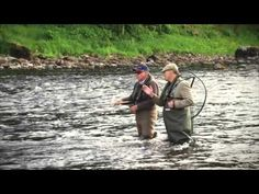 Jock Monteith & Keith Arthur On The River Tay - YouTube