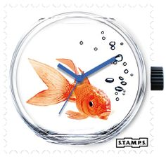 s t a m p s watches Is 11, Spring Colors, Gadgets, Clock, Fish, Watches, Stamps, Site Internet, Bowl
