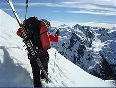 Bariloche backcountry skiing | frey mountain hut ski trip South ...