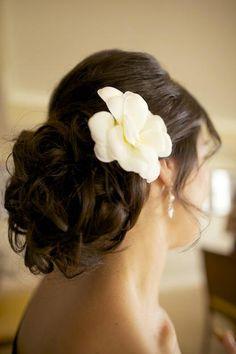 explore wedding hair brunette