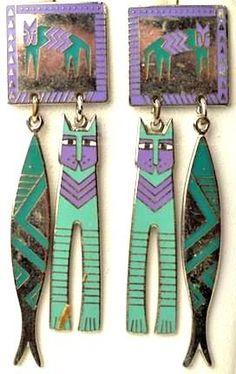 laurel burch jewelry   Laurel Burch earrings